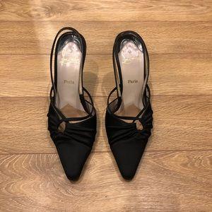 Christian Louboutin kitten heels